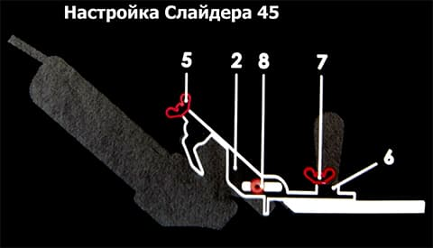Mechanic Slider 45 настройка